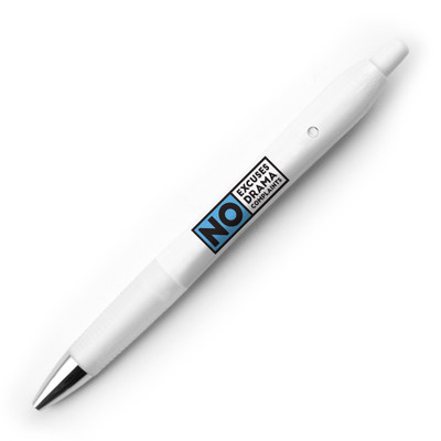 No Excuses, Drama, Complaints Gel Pen