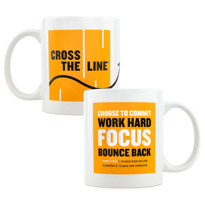 Cross The Line Mug (11oz)