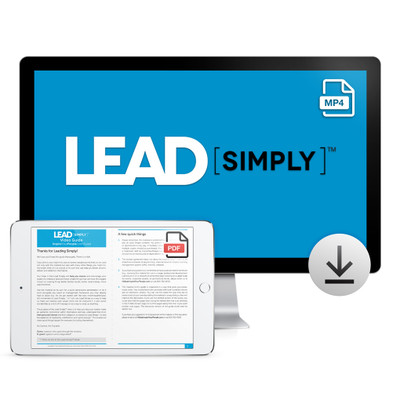 Lead Simply Video Download