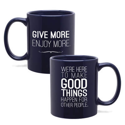 Make Good Things Happen Mug (11oz Blue Gray)