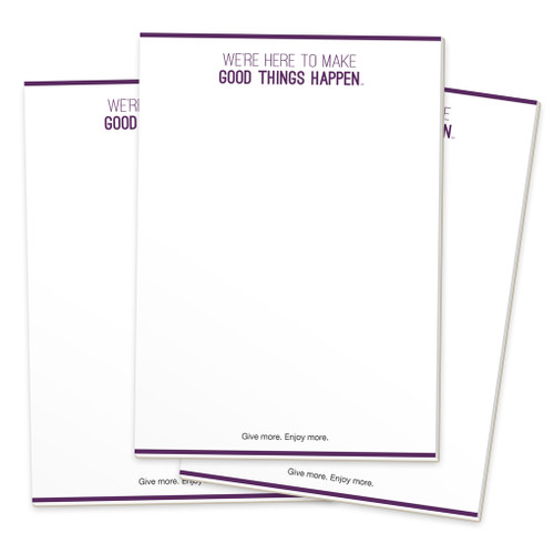 Make Good Things Happen Notepads (3 pack