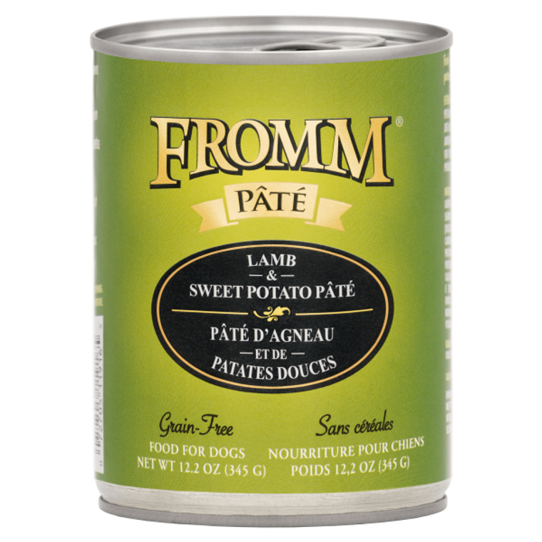 Fromm Can Lamb & Sweet Potato Pate 12.2 oz