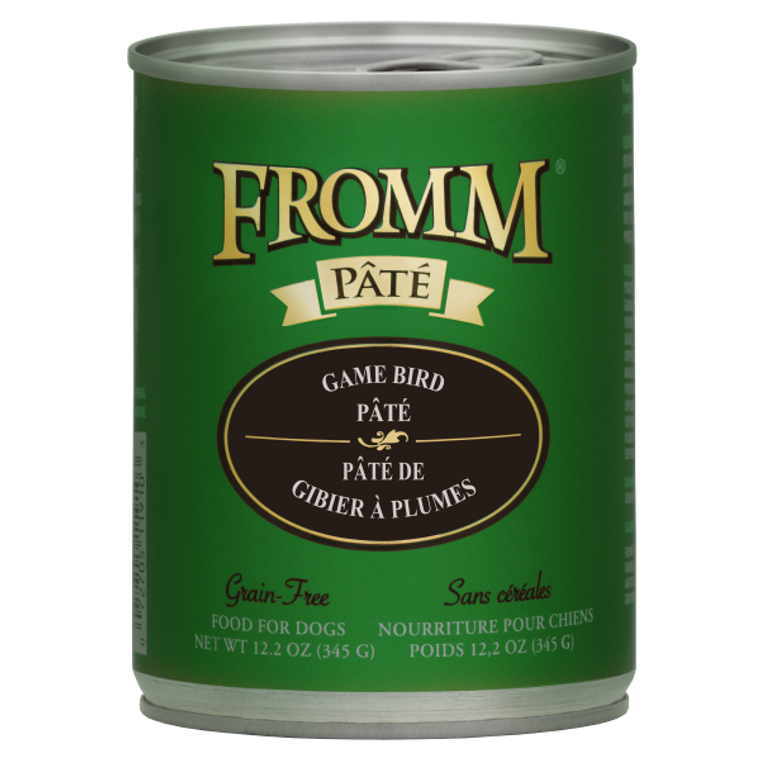 Fromm Can Game Bird Pate 12.2oz