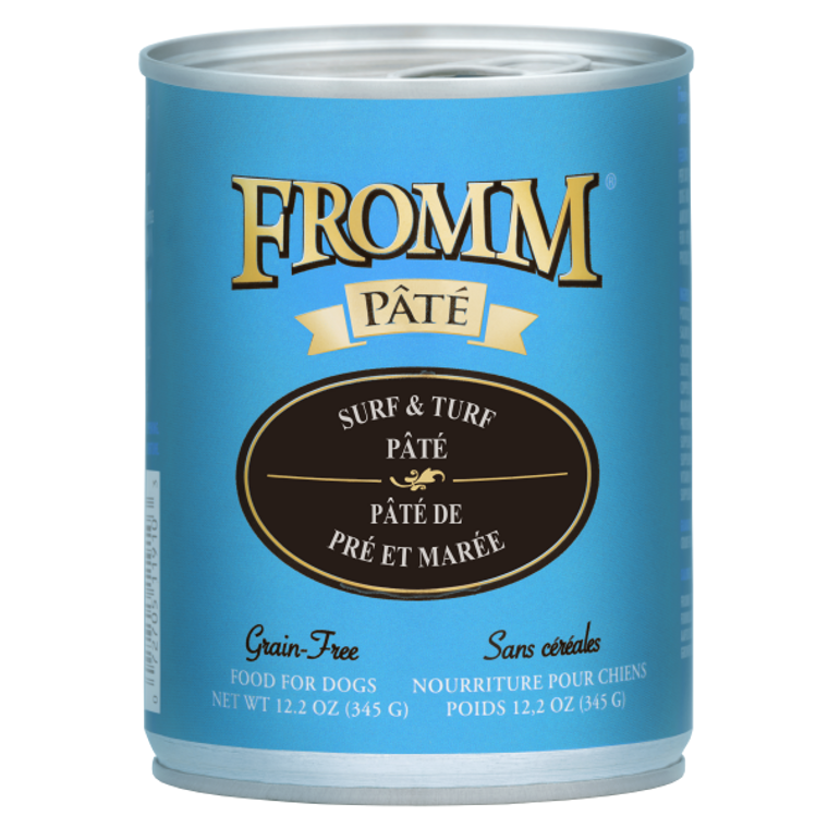 Fromm Can Surf & Turf Pate 12.2oz