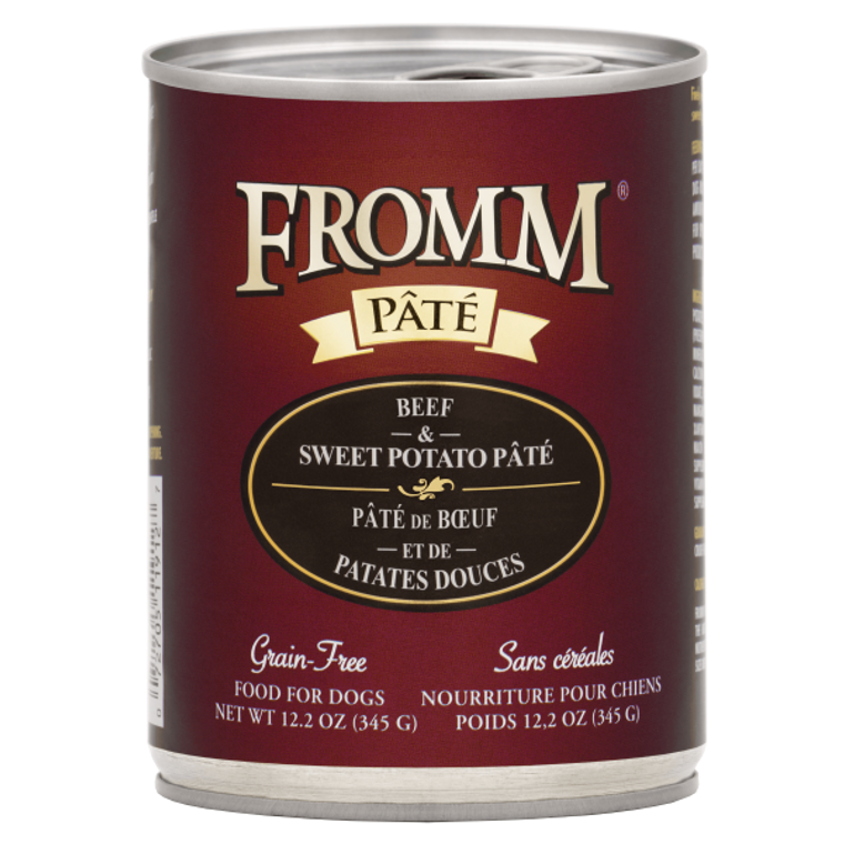 Fromm Can Beef & Sweet Potato Pate 12.2oz