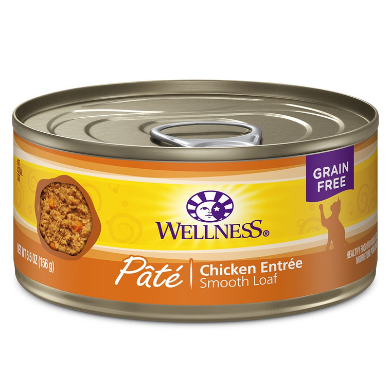 Wellness Cat Pate Chicken Dinner 5.5oz