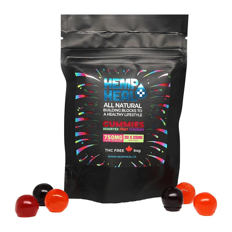 Hemp Heal All Natural Gummies 750mg