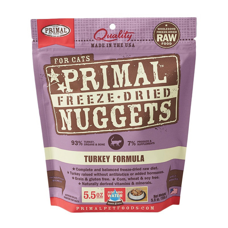 Primal Cat Freeze-Dried Turkey