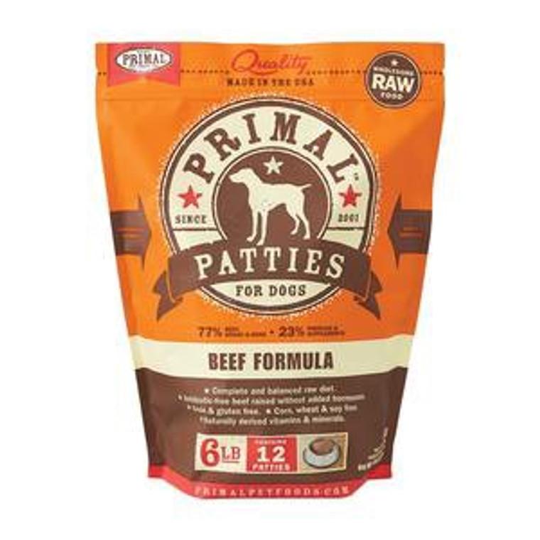 Primal Beef Patties 6lb