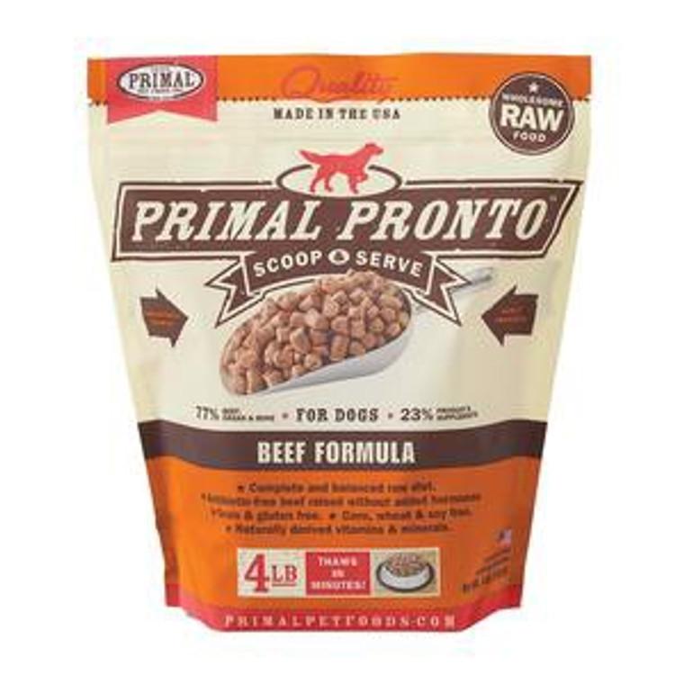 Primal Beef Pronto 4 lb