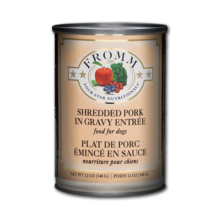 Fromm Can Shredded Pork Entree 12 oz