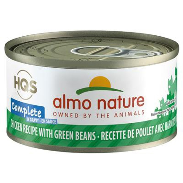 Almo Cat Complete Chicken w/ Green Beans 70g