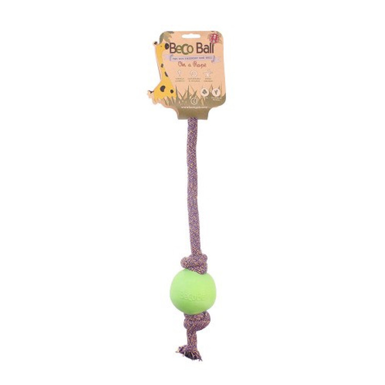 Beco Ball on Rope Green