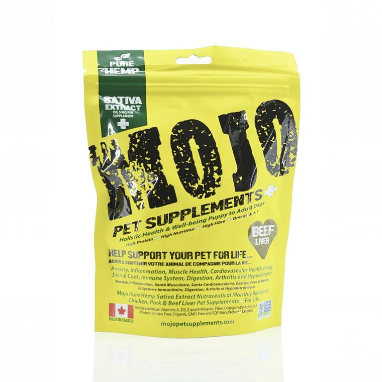 Mojo CBD Hemp Beef Liver Treats 30ct