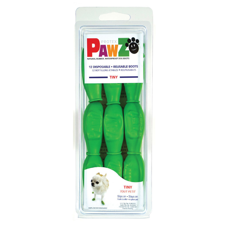 Pawz Rubber Boots Green