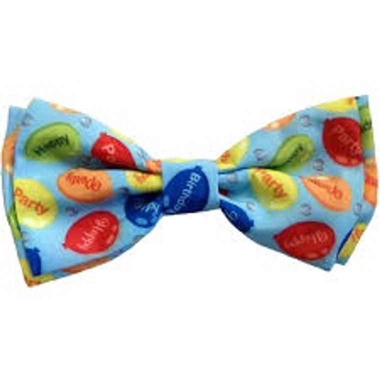 Huxley & Kent Bow Tie Party Time Blue
