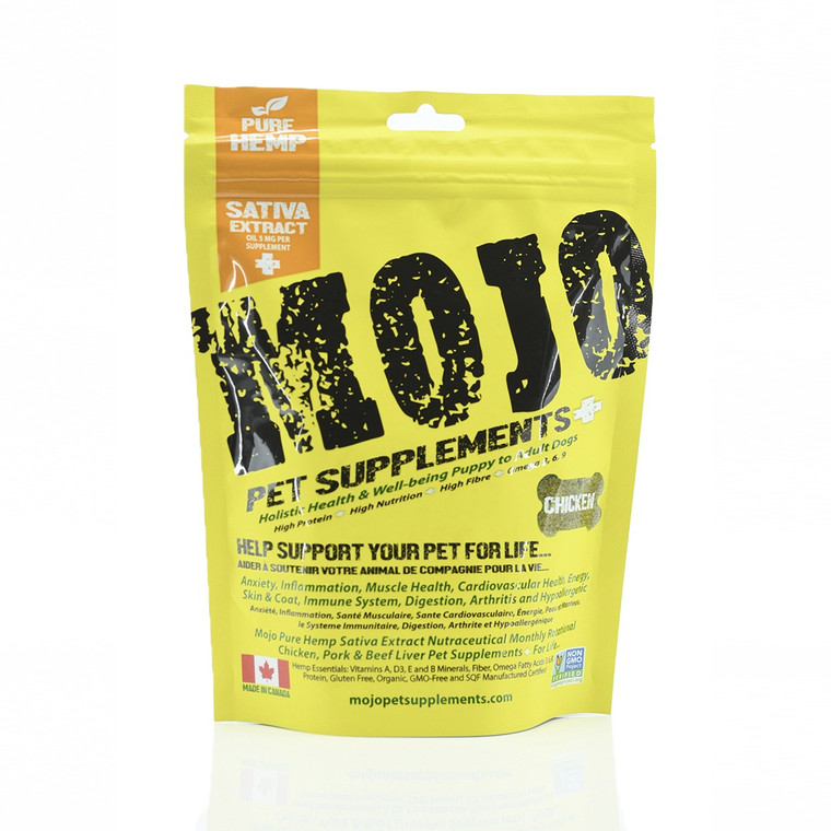 Mojo CBD Hemp Chicken Treats 192g