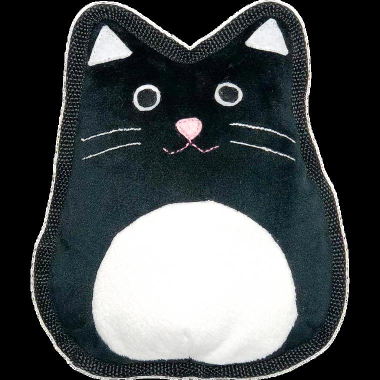 "Patchwork Halloween Flat Cat 8"""