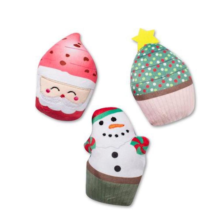 Fringe Christmas Cupcake Minis 3pk