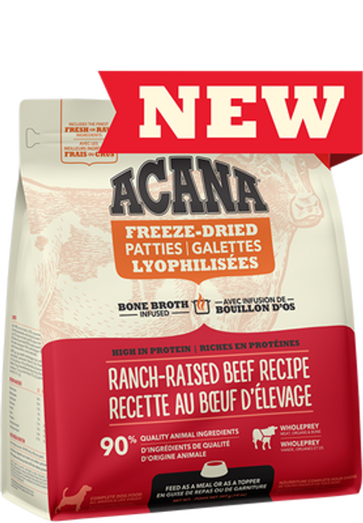 Acana Freeze-Dried Beef Morsels 227g