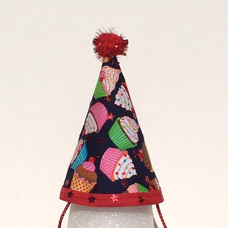 Michiyo Fabric Hat Cupcakes Galore