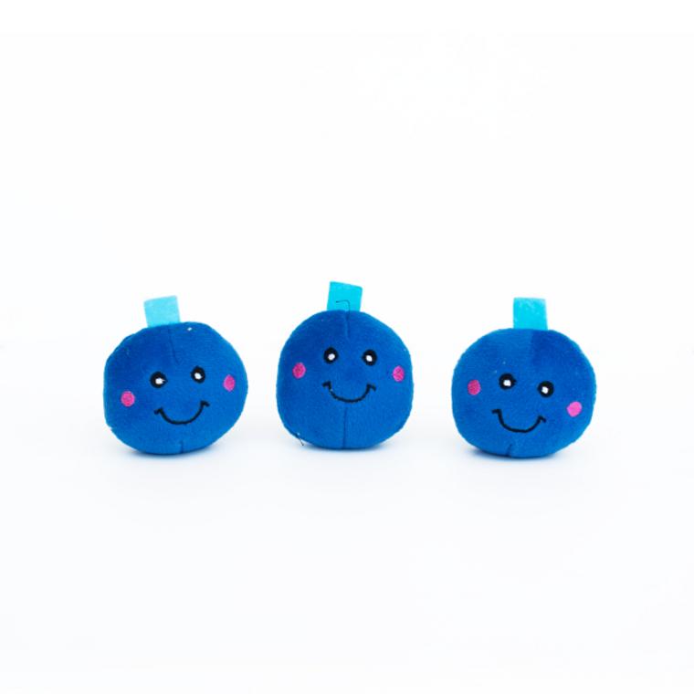 Zippy Paws Miniz Blueberries 3pk