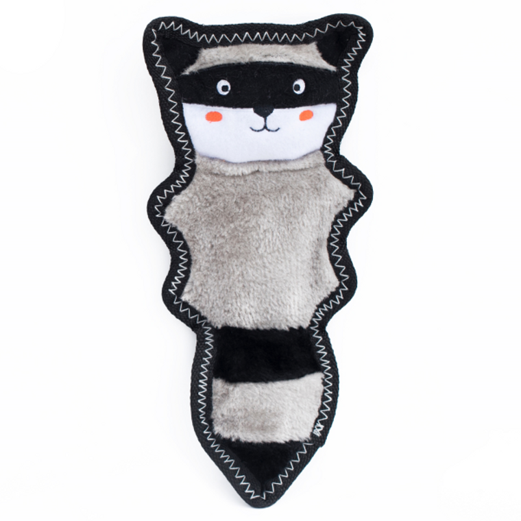 Zippy Paws Skinny Peltz Raccoon