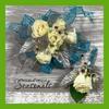 White Roses  Corsage & Boutonnière