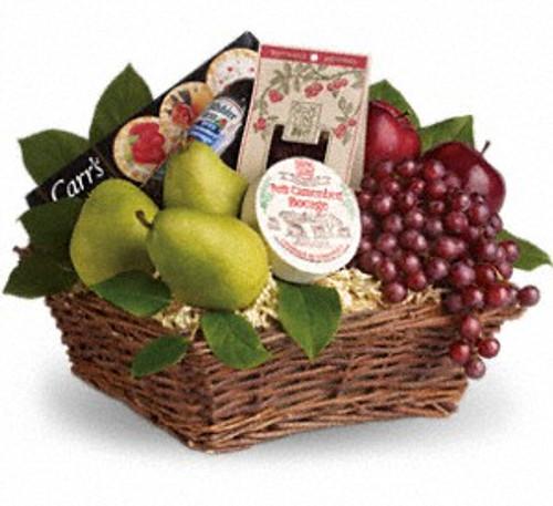 Delicious Delights Fruit Basket