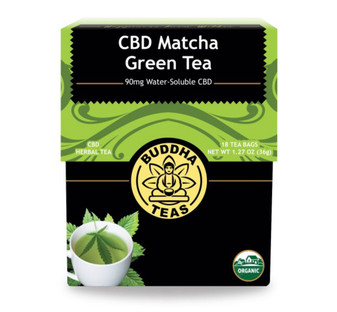 CBD Matcha Green Tea (Buddha Teas)