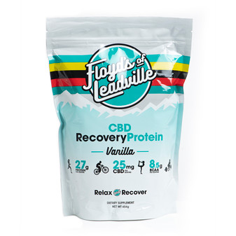 Floyd's Of Leadsville CBD Isolate Recovery Protein - Vanilla