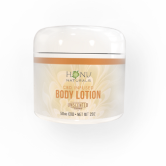 CBD Body Lotion - Unscented: 180mg