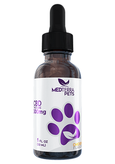 Medterra CBD Tincture for Pets 300mg - Chicken or Beef