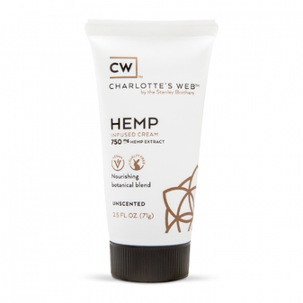 Charlotte's Web Hemp Infused Cream - 750mg