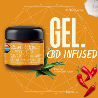 Blue Ridge CBD Infused Gel 2oz - 200mg