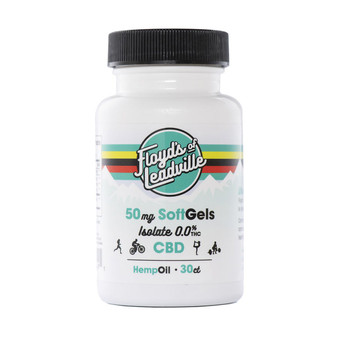 Floyd's of Leadville CBD Isolate Gel Capsules - 50mg