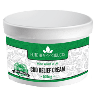 Elite Hemp CBD Relief Cream - 500mg