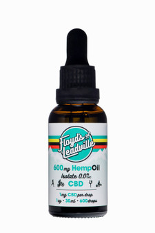 Floyd's of Leadville CBD Isolate Tincture - 600mg