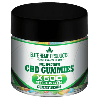 Elite Hemp Full Spectrum CBD Gummies - 500mg