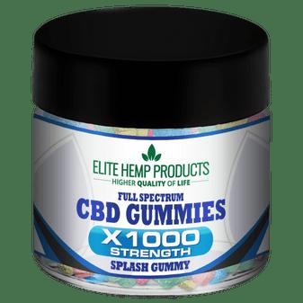 Elite Hemp Full Spectrum CBD Gummies - 1000mg
