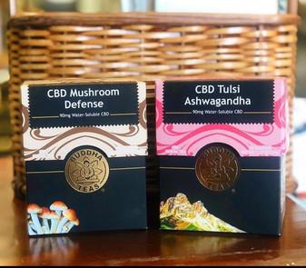 CBD Tulsi Ashwagandha Tea (Buddha Teas) - 18 bags