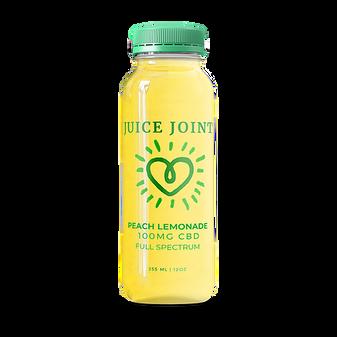 Juice Joint CBD Peach Lemonade Full Spectrum Juice - 100mg
