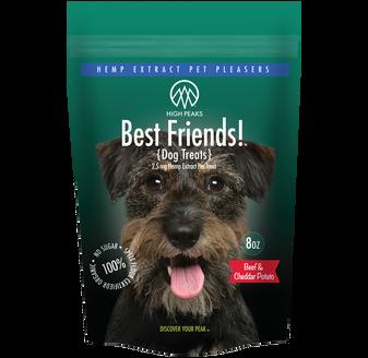 High Peaks Best Friends CBD Pet Pleasers for Dogs