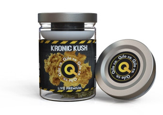 Qilo Co CBD Hemp Flower 7 grams - Kronic Kush (Sativa)