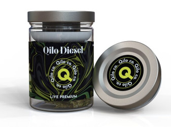 Qilo Co CBD Hemp Flower 7 grams - Diesel (Sativa)