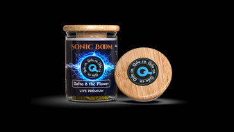 Qilo Co Delta-8 Flower 3.5 grams - Sonic Boom