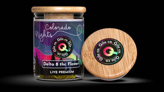 Qilo Co Delta-8 Flower 3.5 grams - Colorado Nights