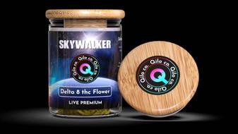 Qilo Co Delta-8 Flower 7grams - Skywalker