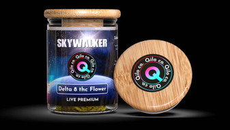Qilo Co Delta-8 Flower 3.5 grams - Skywalker