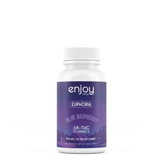 Enjoy Hemp Delta-8 Gummies - 50mg each (10 each) Euphoria/Relaxation/Relief
